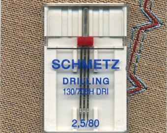Triple needle for sewing 80 Schmetz.