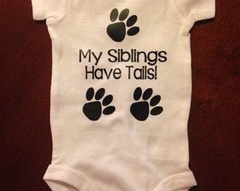 My Siblings Have Tails Onesie