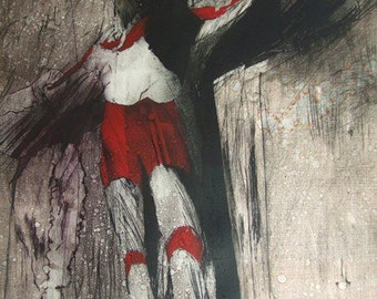Ultraman Crucifix TAKUMA YOSHIDA giclee print on archival paper