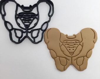 Pelvis Cookie Cutter 3D Printed