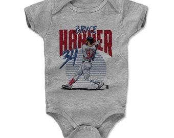 Bryce Harper Baby Clothes | Washington Baseball | Baby Romper | Bryce Harper Rise R