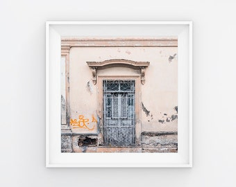 Mexican Abandoned Door Photography Print