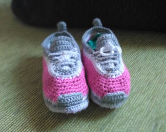 Adidas style baby slippers in pink and grey, unisex, baby