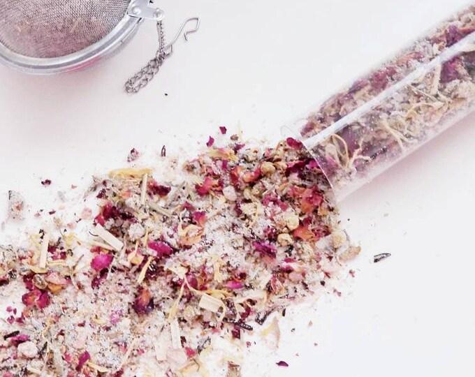rose + santalum bathing milk tea