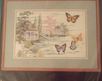 Summer Retreat by Janlynn Counted Cross Stitch Kit