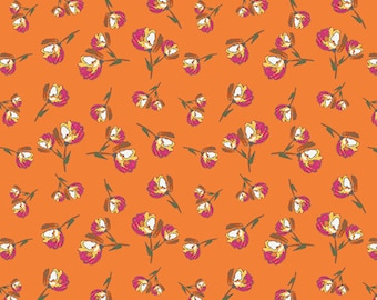 Wild Bloom by Art Gallery Fabrics - Lively Rosebuds Burst - Cotton Woven Fabric