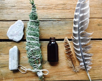 wildcrafted 4 elements ritual kit