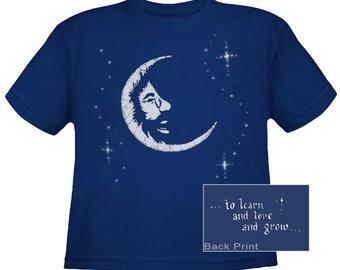 Jerry Garcia Moon kids T-Shirt