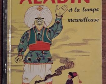 Aladdin and the wonderful book lamp 1960 vintage children's