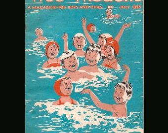 Wee Wisdom vol. LXIV - Vintage Magazine c. July 1958