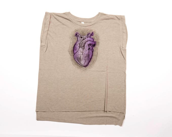 Anatomical Heart Muscle Tee