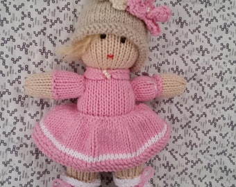 Cherry Blossom - a floral inspired pixie doll