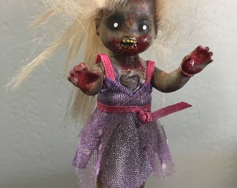 Wine Stopper-posable zombie doll