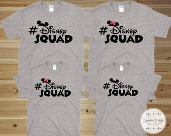 Disney Squad Shirt, Disney Shirts, Disney Family Shirts, Matching Disney Group Shirts, Disney Cruise Shirt, Family Disney Shirts Disney Trip