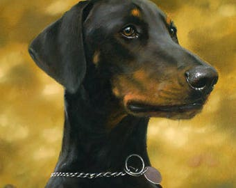 Doberman Pinscher Garden Flags