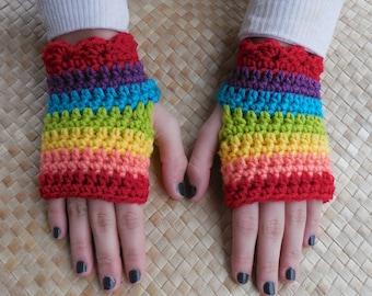 PDF Fingerless Gaming Gloves Crochet Pattern