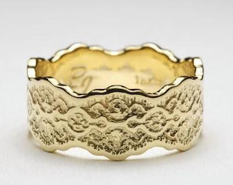 18K Gold Wedding Ring, 18K Gold Ring, Women Wedding Ring, Wedding Rings Woman, 18K Wedding Ring, Gold 18K Wedding Band, Anniversary Ring