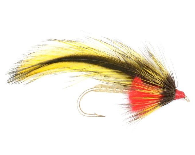 Platte River Special Streamer Wet Fly- Hook Size 6 - Hand-Tied Fly Fishing Trout Flies