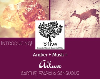 Organic Olive, Amber & Musk