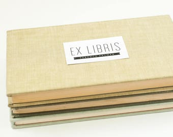 Ex Libris, Personalized Bookplate Labels for Your Library // DISSERTATION