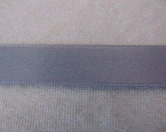 Satin ribbon, grey (S-234)