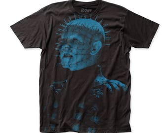 Hellraiser Pinhead Soft 30/1 Men's Cotton Tee (SUBHR01) Black (DISCONTINUED!)