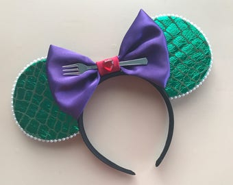 Ariel Inspired Ear Headband