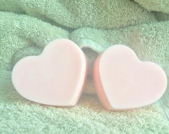Valentines gardenia soap - heart soap - love soap