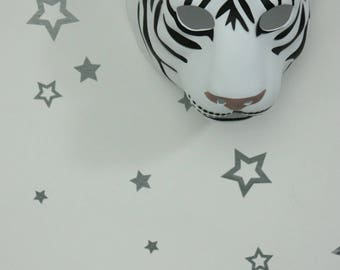 50 Stickers stars clipped to dress up your walls