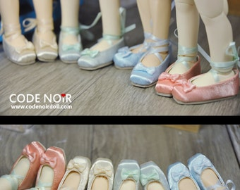 CODENOiR - Ballet BJD shoes for YoSD / 1/6 BJD (4 color)