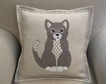 Pillow pillowcase Cat