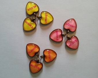 Hand Made Sweetheart Candy theme photo Jewelry Pendants