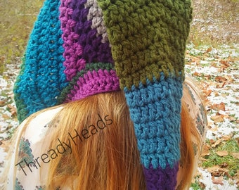 Crochet Elven / Fairy / Iris Pixie Hoodie
