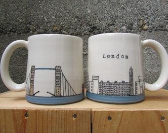 MADE TO ORDER ~ London Mug