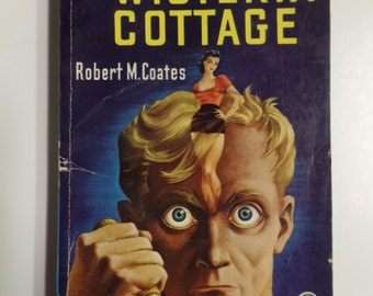 Wisteria Cottage by Robert M. Coates Dell Mapback #371 1948 Vintage Mystery Paperback