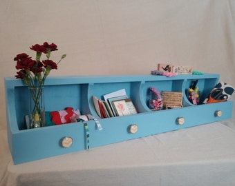 Playful Cubby Storage Shelf