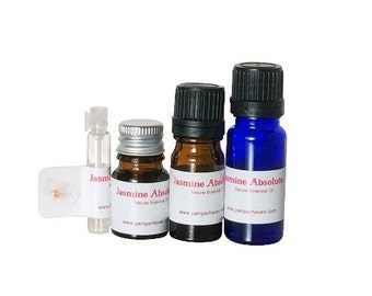 Jasmine grandiflorum flower absolute oil, Jasmine precious oil, Aromatherapy Jasmine flower essential oil, Therapeutic jasmine essence oil