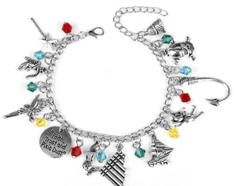 Peter Pan Adjustable Charm Bracelet