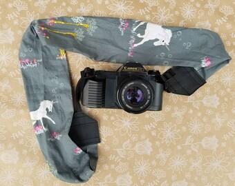 Unicorn Camera Strap, Camera Neck Strap, dslr Camera Strap, Camera Accessories,  Photographer Supplies