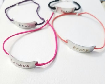 Custom Personalized Name Wrap Bracelet  teenager gift suede cord Inspirational Jewelry gifts