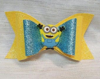 Minion Inspired Bow