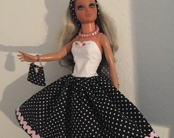 Pretty new doll Dress fits Vintage Foll Tiffany Taylor