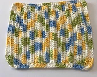 100% Cotton handmade Dish/wash cloth