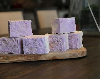 Pink Himalayan Salt Bar with Lavender & Patchouli