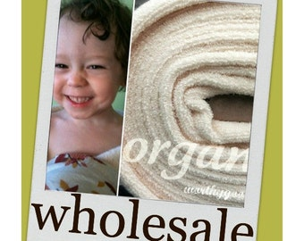 10 Yards Organic Terry Cloth Fabric By the Yard Yardage US Made Domestically Made GOTS Certified Yardage Cream Ivory