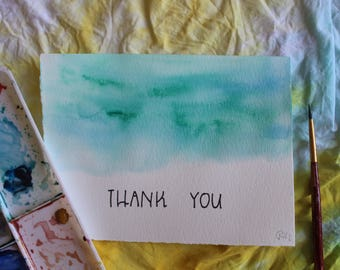 Thank You Blue- Notecards