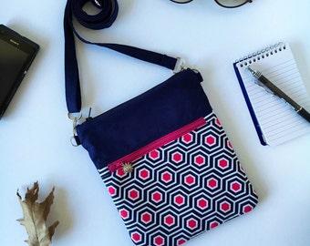 Cross Body Bag, Small Crossbody Bags, Personalized Crossbody mini bag, Cell Phone Bag