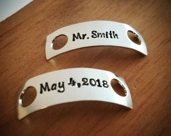 Bridal Personalized Shoe Tags