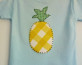 Pineapple t-shirt -childrens clothes - kidswear