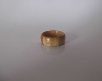 Wooden ring made from Cherry wood
